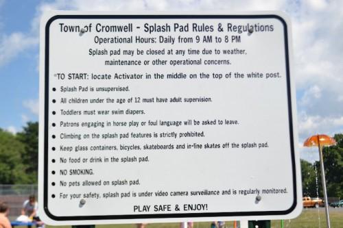 Cromwell Splash Park