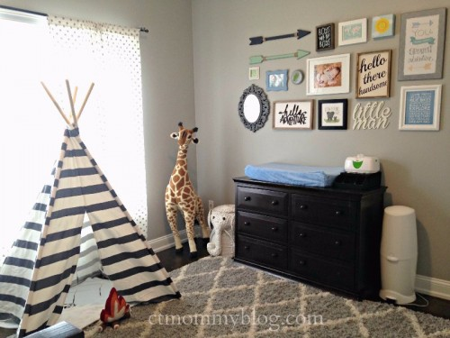 Boy Adventure Themed Room