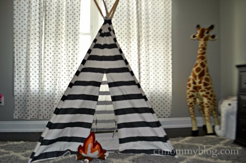 Toddler Striped Teepee
