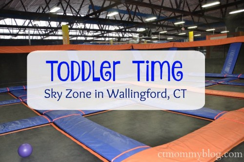 Toddler Time Sky Zone