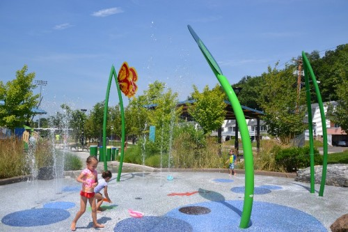 Splash Pads in CT
