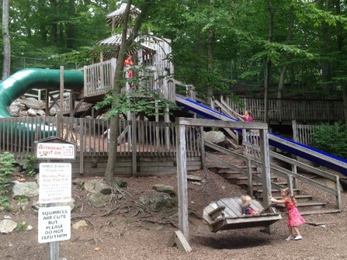 Stamford Nature Center Playground