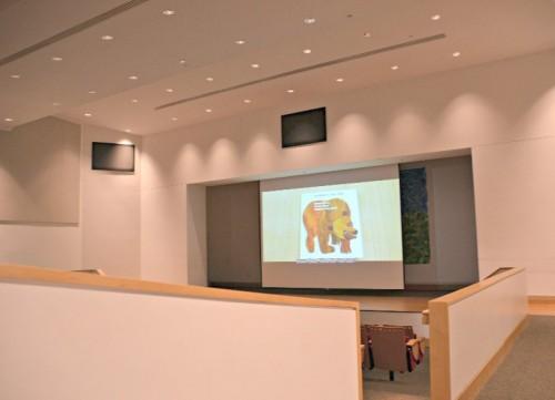 Eric Carle Museum Auditorium