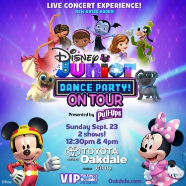 Disney Jr Dance Party CT Tickets