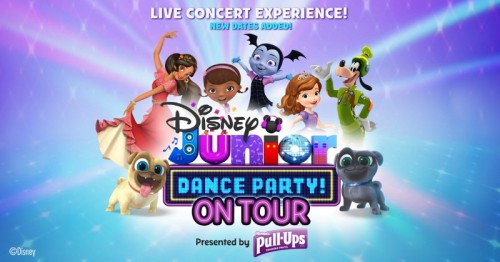 Disney Jr Dance Party Oakdale Theatre CT
